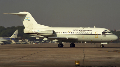 TC-55 - Fokker F28-1000C Fellowship - Argentina - Air Force
