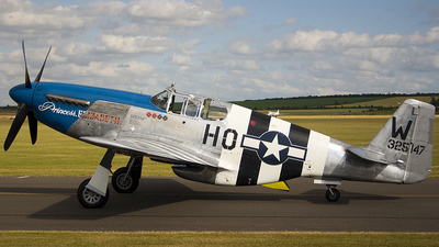 G-PSIC - North American P-51C Mustang - Private