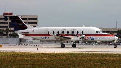 N218YV - Beech 1900D - US Airways Express (Mesa Airlines)