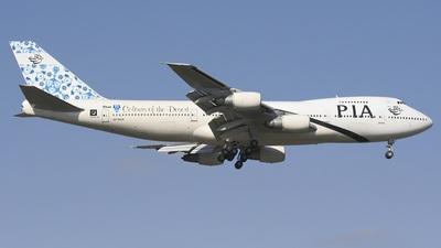 AP-BAK - Boeing 747-240B(M) - Pakistan International Airlines (PIA)