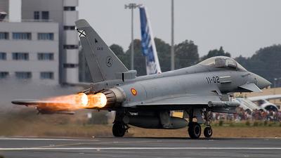 C.16-22 - Eurofighter Typhoon EF2000 - Spain - Air Force