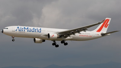 EC-JTB - Airbus A330-322 - Air Madrid