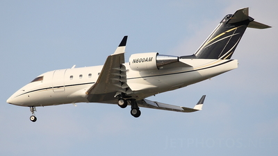 N600AM - Bombardier CL-600-2B16 Challenger 604 - Secure Aviation