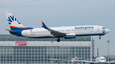 TC-SUH - Boeing 737-8CX - SunExpress