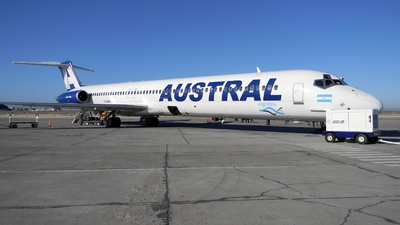 LV-BHH - McDonnell Douglas MD-83 - Austral Líneas Aéreas