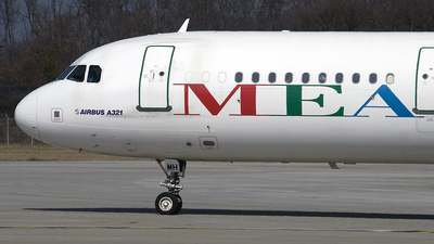 F-ORMH - Airbus A321-231 - Middle East Airlines (MEA)