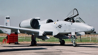 82-0662 - Fairchild OA-10A Thunderbolt II - United States - US Air Force (USAF)