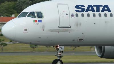 CS-TKL - Airbus A320-214 - SATA International