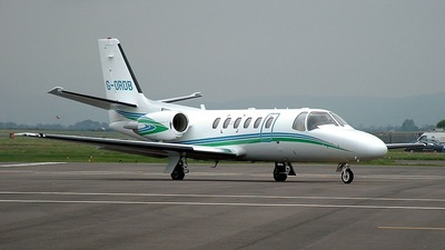 G-ORDB - Cessna 550B Citation Bravo - Equipe Air