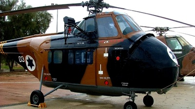 03 - Sikorsky S-55 - Israel - Air Force