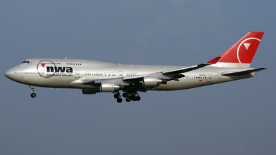 N672US - Boeing 747-451 - Northwest Airlines