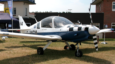 G-JWCM - Scottish Aviation Bulldog 120 - Private