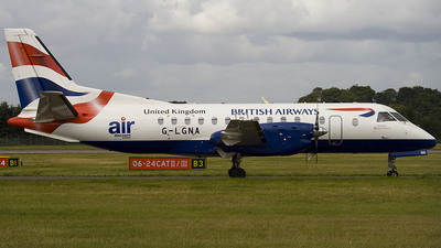 G-LGNA - Saab 340B - British Airways (Loganair)