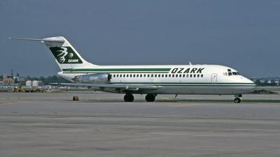 N491SA - McDonnell Douglas DC-9-15 - Ozark Air Lines