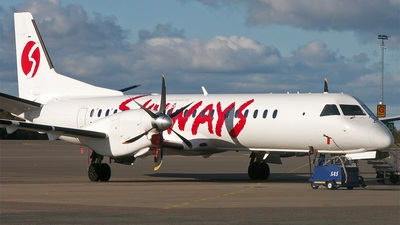 SE-KCF - Saab 2000 - Skyways