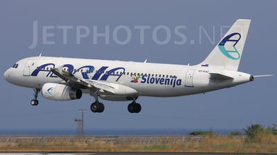 S5-AAC - Airbus A320-231 - Adria Airways
