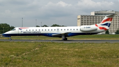 G-EMBP - Embraer ERJ-145EU - British Airways (CityFlyer Express)