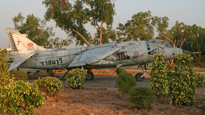 3107 - Hawker Siddeley Harrier GR.1 - Thailand - Royal Thai Navy