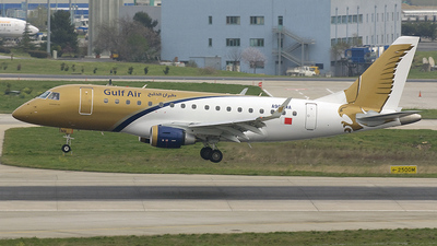 A9C-MA - Embraer 170-100LR - Gulf Air