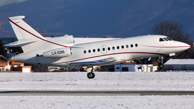 LX-COS - Dassault Falcon 900B - Global Jet Luxembourg