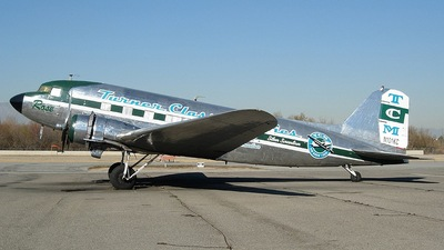 N101KC - Douglas DC-3C - Private