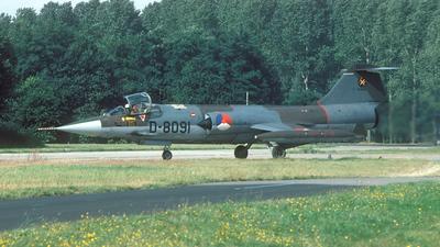 D-8091 - Lockheed F-104G Starfighter - Netherlands - Royal Air Force