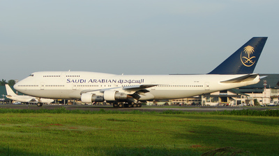 HS-VAN - Boeing 747-312 - Saudi Arabian Airlines (Phuket Air)