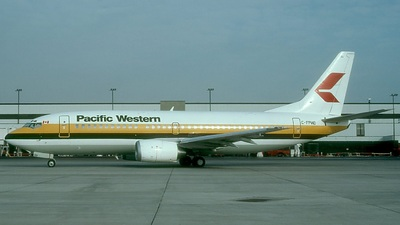 C-FPWD - Boeing 737-3Y0 - Pacific Western Airlines