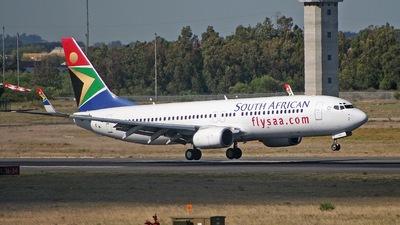 ZS-SJU - Boeing 737-844 - South African Airways
