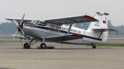 VNC-808 - Antonov An-2 - Vietnam Air Services Company (VASCO)