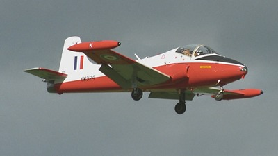 G-BWSG - Hunting Percival Jet Provost T.5 - Private