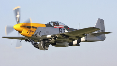 G-BTCD - North American P-51D Mustang - Private