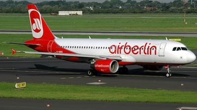 D-ABDC - Airbus A320-214 - Air Berlin