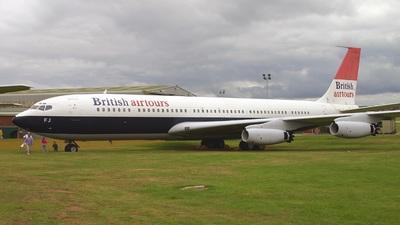 G-APFJ - Boeing 707-436 - British Airways