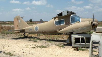 041 - Dornier Do-28B1 Skyservant - Israel - Air Force