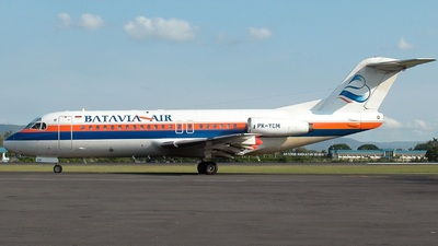 PK-YCM - Fokker F28-4000 Fellowship - Batavia Air