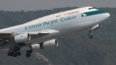 B-HOZ - Boeing 747-467(BCF) - Cathay Pacific Cargo