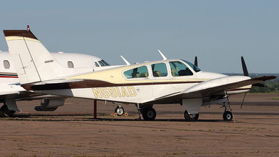 A picture of N591AD - Beech 95B55 Baron - [TC647] - © Galen Burrows