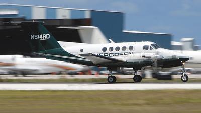 N514RD - Beechcraft 200C Super King Air - Evergreen International Airlines