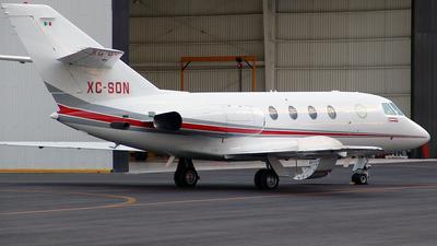 A picture of XCSON - Dassault Falcon 20F - [393] - © Jonathan Parra