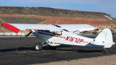 A picture of N1672P - Piper PA18A 150 - [183801] - © Jeff Rodeback