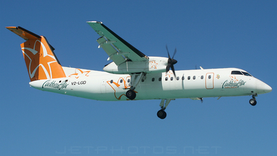 V2-LGD - Bombardier Dash 8-311 - Caribbean Star Airlines