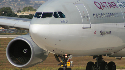 A7-AFN - Airbus A330-203 - Qatar Airways