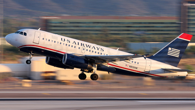 N809AW - Airbus A319-132 - US Airways