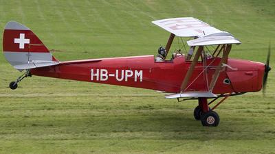 HB-UPM - De Havilland DH-82A Tiger Moth - Private