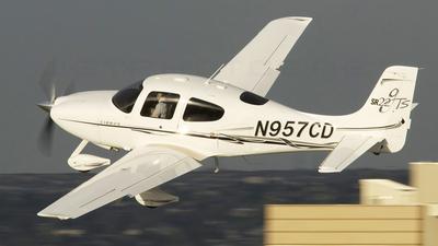 N957CD - Cirrus SR22 - Private