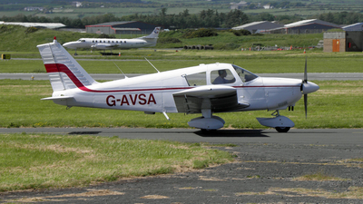 A picture of GAVSA - Piper PA28180 - [284184] - © D Kelly- IoM Pics