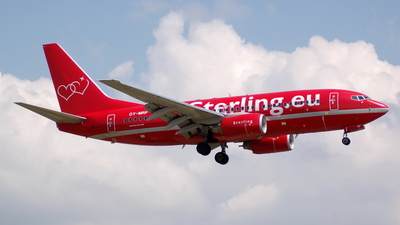 OY-MRP - Boeing 737-7K9 - Sterling Airlines