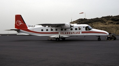 TF-ELF - Dornier Do-228-201 - �slandsflug