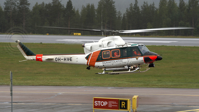 OH-HVE - Agusta-Bell AB-412EP - Finland - Frontier Guard